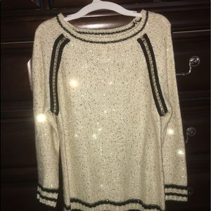Sweaters - Sweater Gold and Black